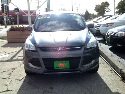 2013 Ford Escape for sale at JIMS AUTO MART INC in Milwaukee WI