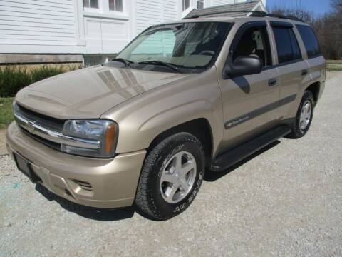 2004 Chevrolet TrailBlazer for sale at Longs Automobile Emporium Inc in Atwater OH