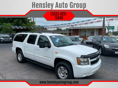 2008 Chevrolet Suburban for sale at Hensley Auto Group in Middletown OH