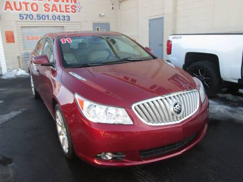 2011 Buick LaCrosse for sale at Small Town Auto Sales in Hazleton PA