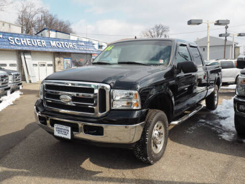 2006 Ford F-250 Super Duty for sale at Scheuer Motor Sales INC in Elmwood Park NJ