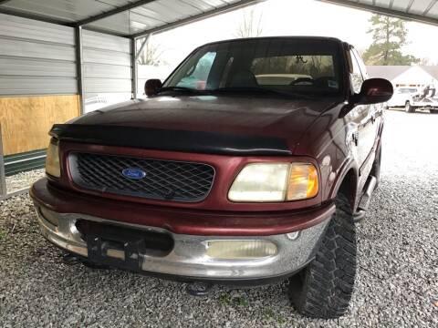 1997 Ford F-150 for sale at K & E Auto Sales in Ardmore AL