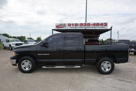2003 Dodge Ram Pickup 2500 for sale at Ratts Auto Sales in Collinsville OK