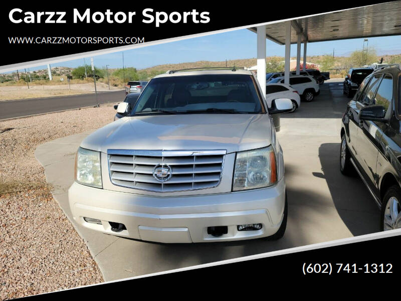 2004 Cadillac Escalade EXT for sale at Carzz Motor Sports in Fountain Hills AZ