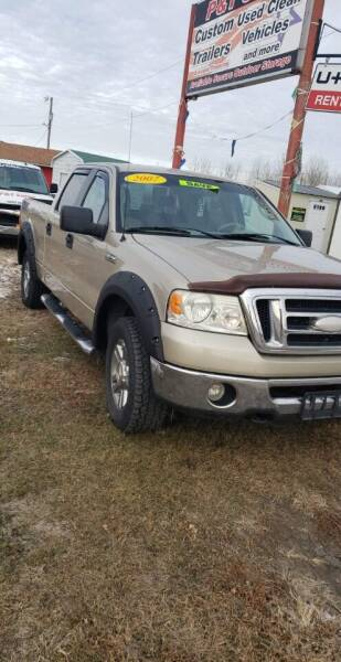 2007 Ford F-150 for sale at P & T SALES in Clear Lake IA