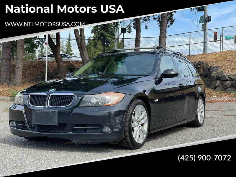 2008 BMW 3 Series for sale at National Motors USA in Federal Way WA