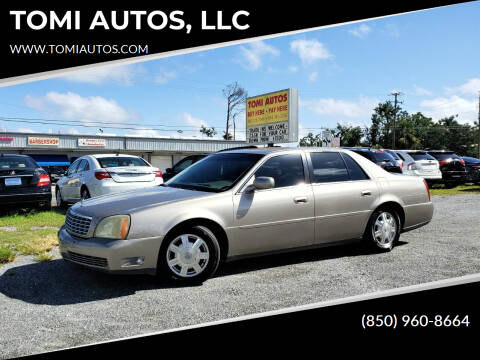 2004 Cadillac DeVille for sale at TOMI AUTOS, LLC in Panama City FL