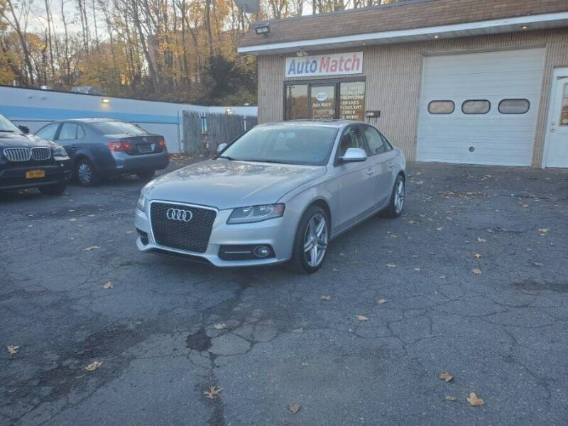 2009 Audi A4 for sale at Auto Match in Waterbury CT