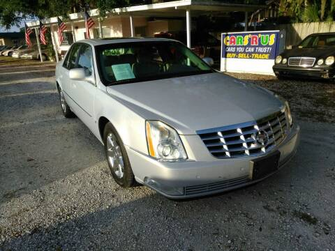 2006 Cadillac DTS for sale at D & D Detail Experts / Cars R Us in New Smyrna Beach FL