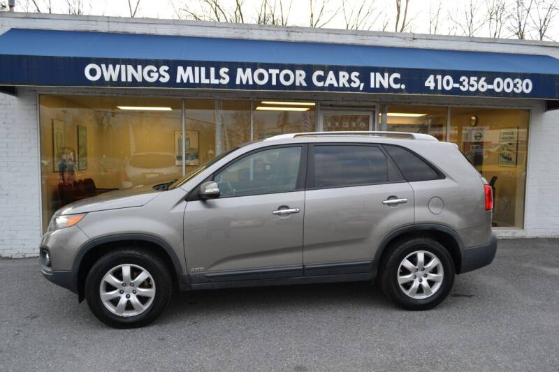 2011 Kia Sorento for sale at Owings Mills Motor Cars in Owings Mills MD