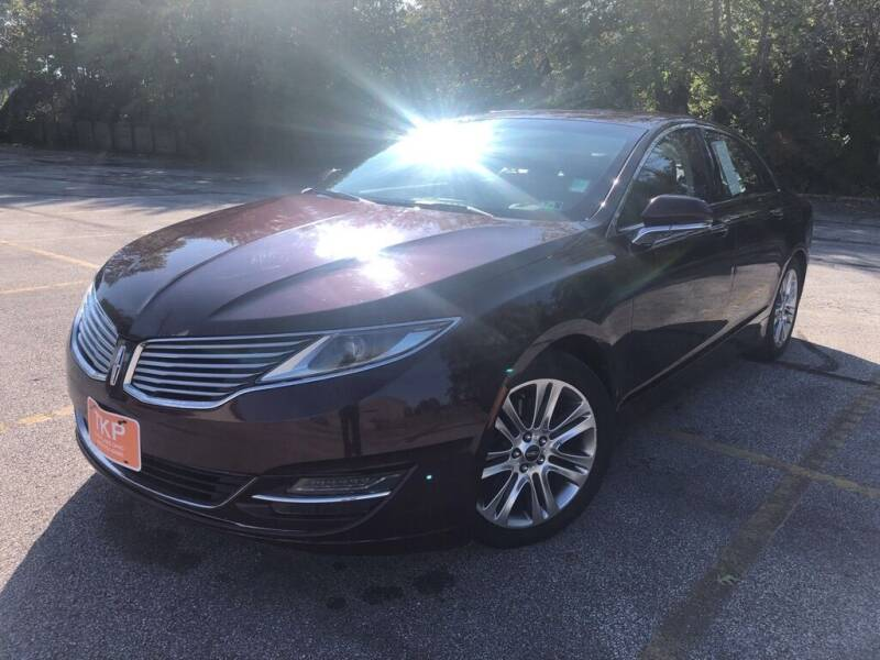 2013 Lincoln MKZ for sale at TKP Auto Sales in Eastlake OH