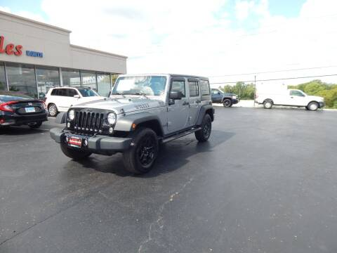 2015 Jeep Wrangler Unlimited for sale at Mira Auto Sales in Dayton OH