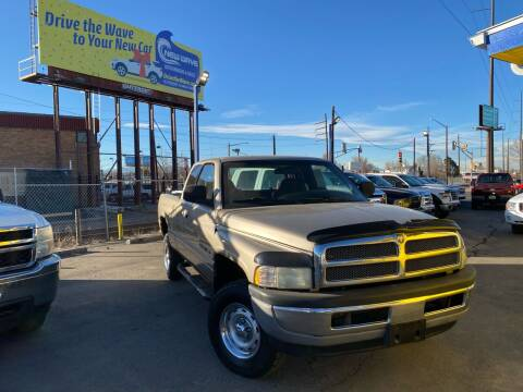 2001 Dodge Ram Pickup 1500 for sale at New Wave Auto Brokers & Sales in Denver CO