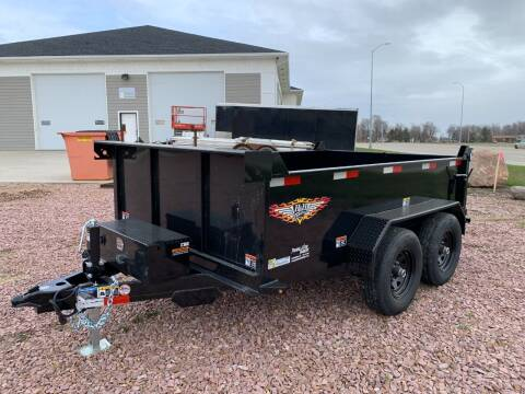 2021 H&H UDB 76x10 Dump Box #8676 for sale at Prairie Wind Trailers, LLC in Harrisburg SD