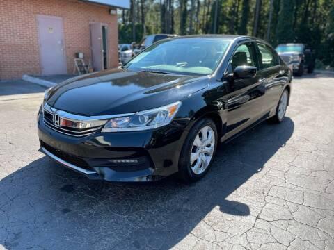 2017 Honda Accord for sale at Magic Motors Inc. in Snellville GA