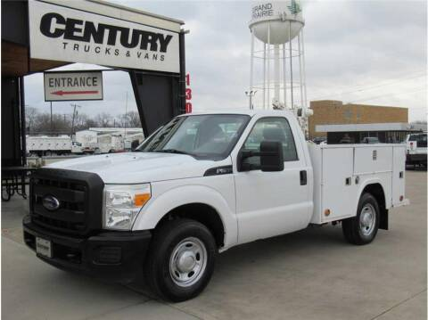 2012 Ford F-250 Super Duty for sale at CENTURY TRUCKS & VANS in Grand Prairie TX