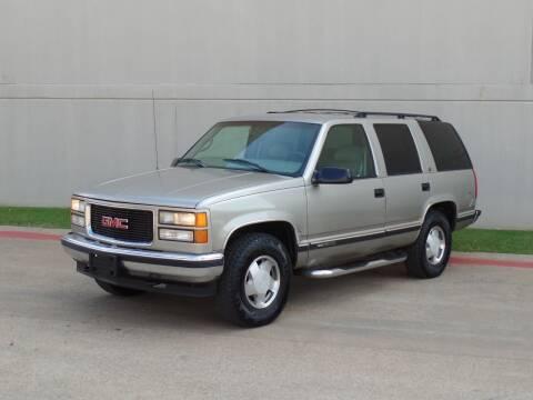 1998 GMC Yukon for sale at CROWN AUTOPLEX in Arlington TX