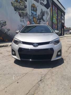 2015 Toyota Corolla for sale at Rosa's Auto Sales in Miami FL