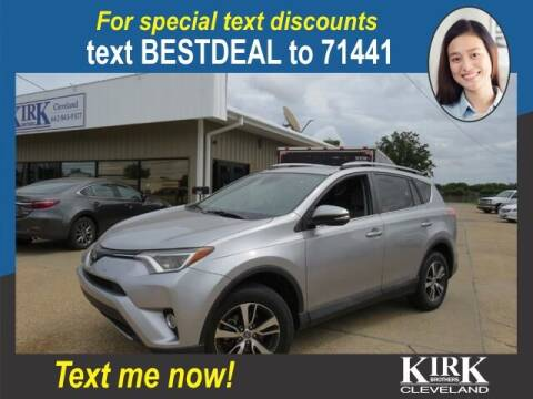 2017 Toyota RAV4 for sale at Kirk Brothers of Cleveland in Cleveland MS