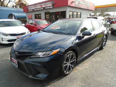2020 Toyota Camry for sale at International Motors in Laurel MD