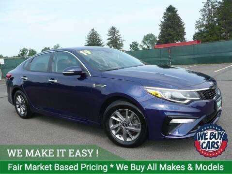 2019 Kia Optima for sale at Shamrock Motors in East Windsor CT