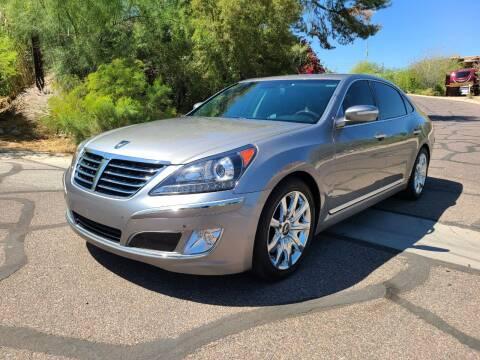 2012 Hyundai Equus for sale at BUY RIGHT AUTO SALES in Phoenix AZ