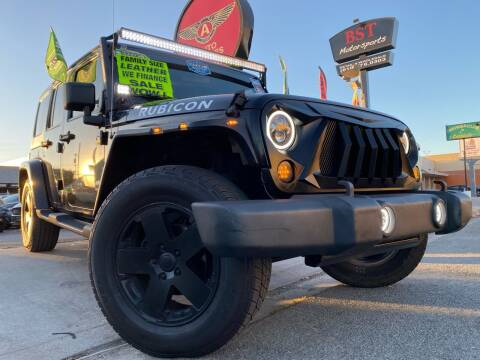 2009 Jeep Wrangler Unlimited for sale at Auto Express in Chula Vista CA