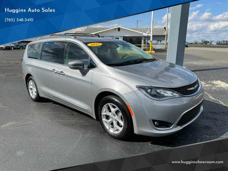 2018 Chrysler Pacifica for sale at Huggins Auto Sales in Hartford City IN