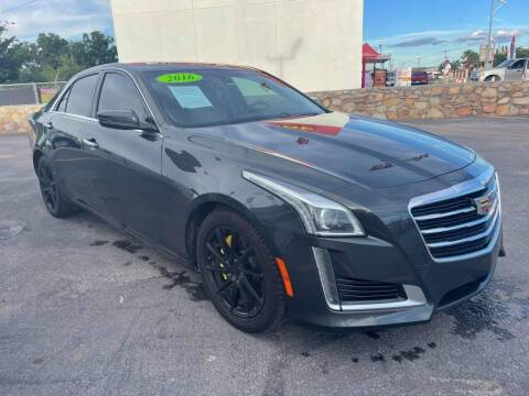 2016 Cadillac CTS for sale at VIVASTREET AUTO SALES LLC - VivaStreet Auto Sales in Socorro TX