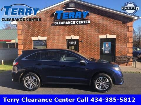 2016 Acura RDX for sale at Terry Clearance Center in Lynchburg VA