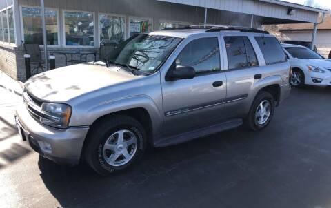 2002 Chevrolet TrailBlazer for sale at County Seat Motors in Union MO
