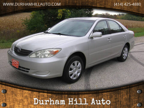 2004 Toyota Camry for sale at Durham Hill Auto in Muskego WI