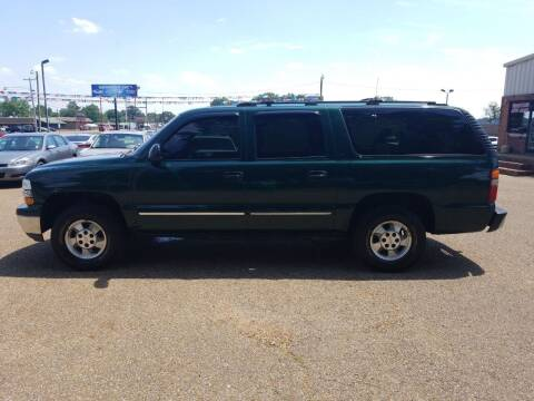 2001 Chevrolet Suburban for sale at Frontline Auto Sales in Martin TN