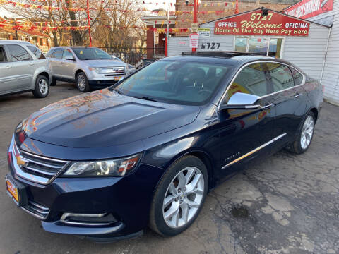 2014 Chevrolet Impala for sale at RON'S AUTO SALES INC in Cicero IL