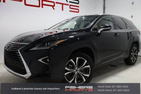 2018 Lexus RX 350L for sale at Fishers Imports in Fishers IN