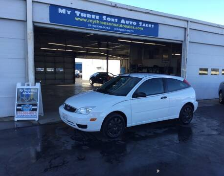 2007 Ford Focus for sale at My Three Sons Auto Sales in Sacramento CA