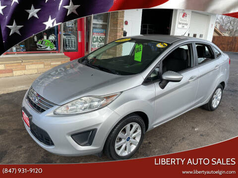 2012 Ford Fiesta for sale at Liberty Auto Sales in Elgin IL