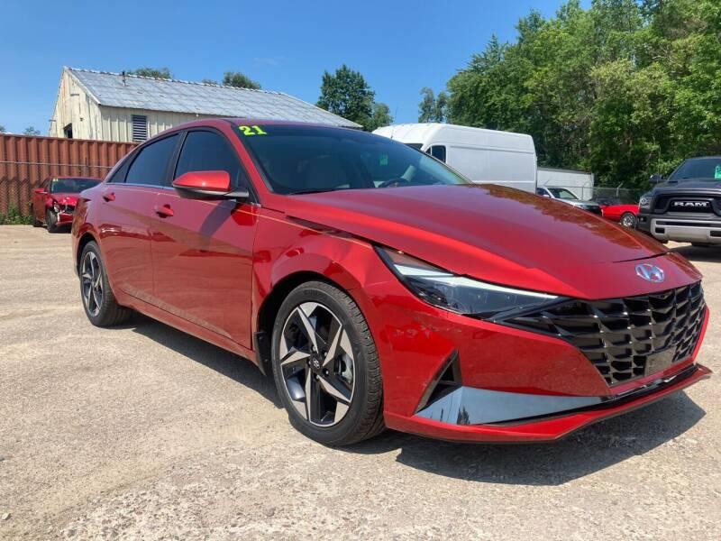 2021 Hyundai Elantra for sale at SUNSET CURVE AUTO PARTS INC in Weyauwega WI