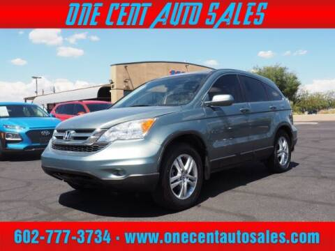 2011 Honda CR-V for sale at One Cent Auto Sales in Glendale AZ