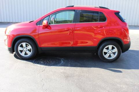 2016 Chevrolet Trax for sale at Lansing Auto Mart in Lansing KS