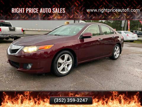 2009 Acura TSX for sale at Right Price Auto Sales in Waldo FL