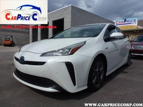 2019 Toyota Prius for sale at CarPrice Corp in Murray UT