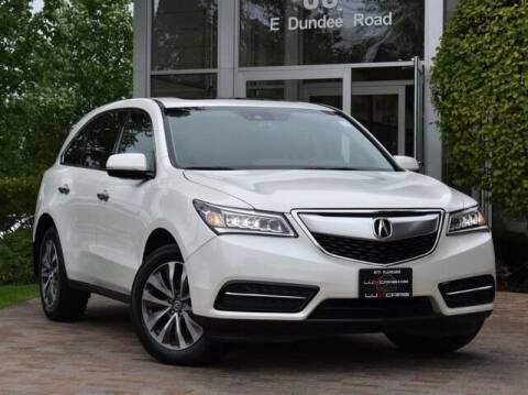 2016 Acura MDX for sale at Cj king of car loans/JJ's Best Auto Sales in Troy MI