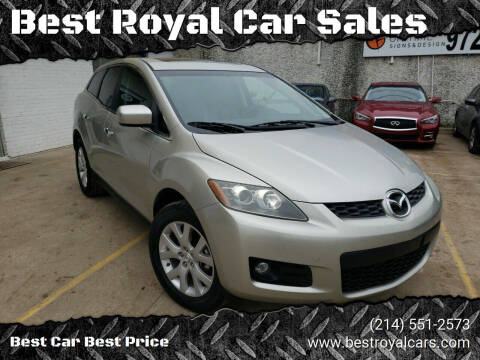 2008 Mazda CX-7 for sale at Best Royal Car Sales in Dallas TX