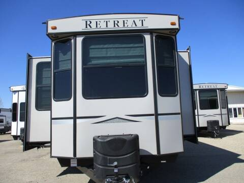 2021 Keystone Retreat 391 MKTS for sale at Lakota RV - New Park Trailers in Lakota ND