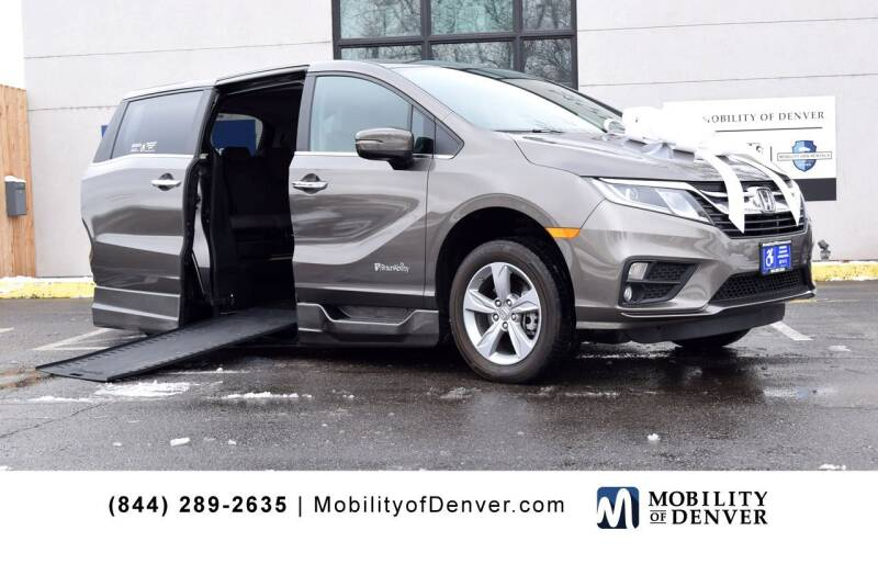2019 Honda Odyssey for sale at CO Fleet & Mobility in Denver CO