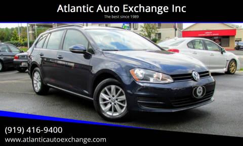 2017 Volkswagen Golf SportWagen for sale at Atlantic Auto Exchange Inc in Durham NC