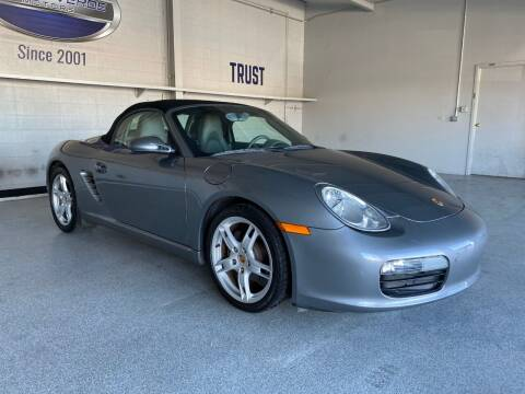 2006 Porsche Boxster for sale at TANQUE VERDE MOTORS in Tucson AZ