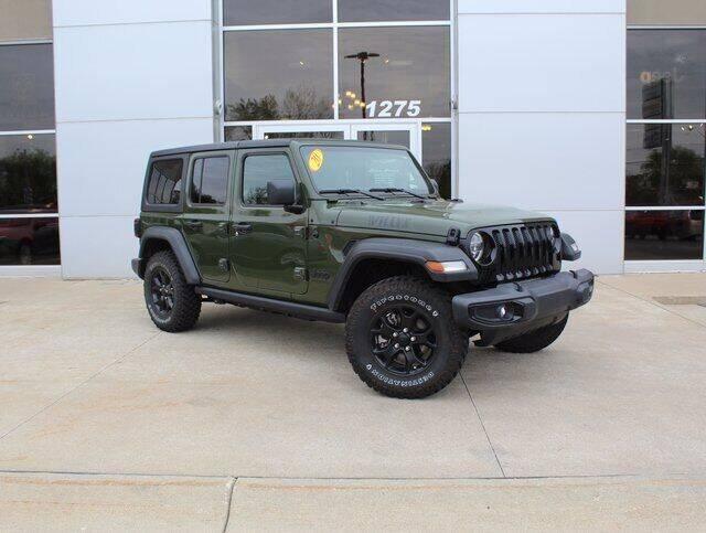 2020 Jeep Wrangler Unlimited for sale in Battle Creek, MI