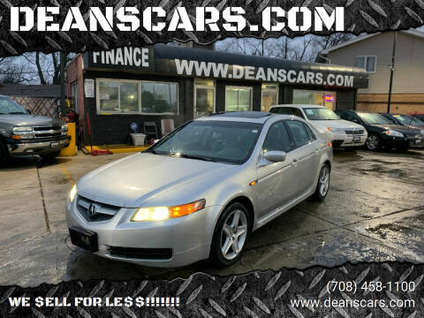 2006 Acura TL for sale at DEANSCARS.COM in Bridgeview IL